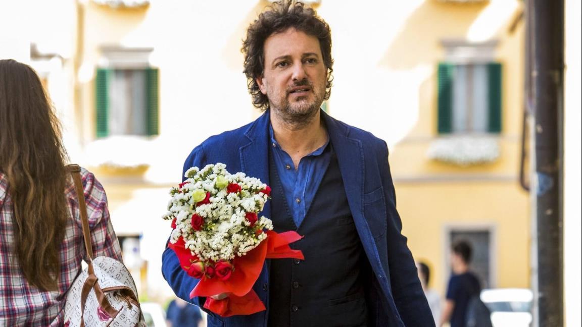 Leonardo Pieraccioni in una scena di Se son rose