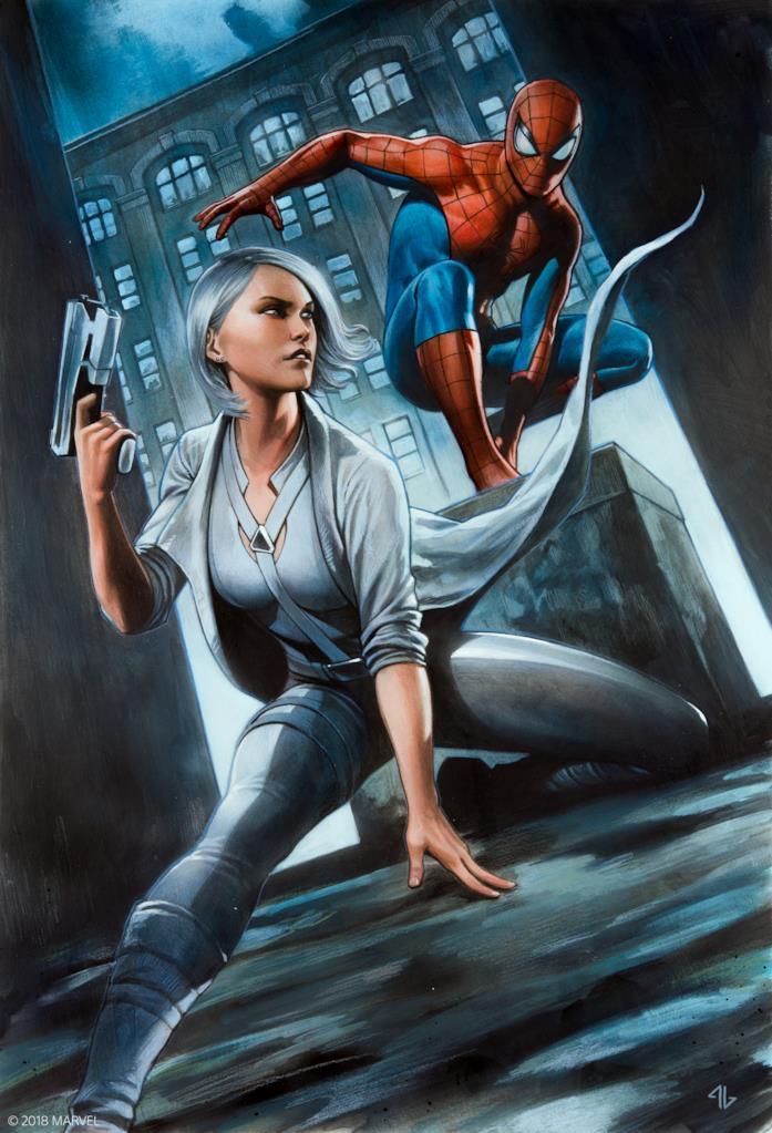 Illustrazione dell'artista Marvel Adi Granov per celebrare l'uscita di Silver Lining