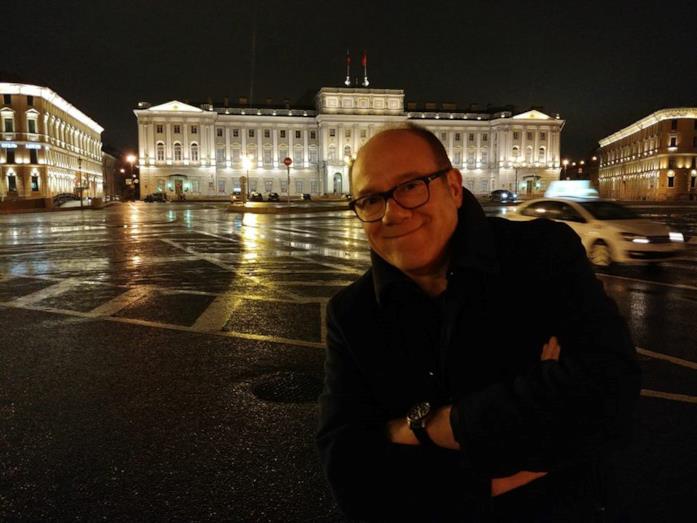 Carlo Verdone in un recente scatto