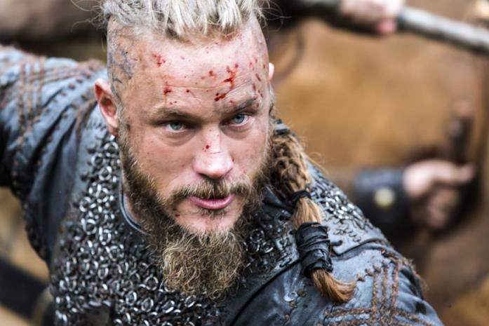 Vikings: Ragnar, interpretato da Travis Fimmel