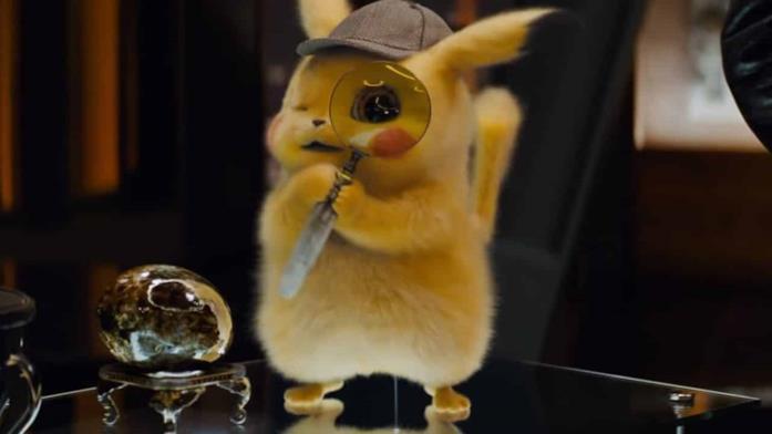 Una scena di Detective Pikachu