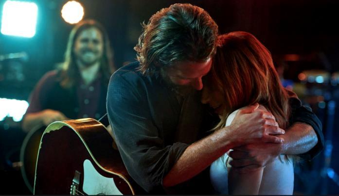 Una scena, un abbraccio in A Star is Born