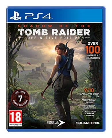 Shadow of The Tomb Raider - Definitive Edition - PlayStation 4