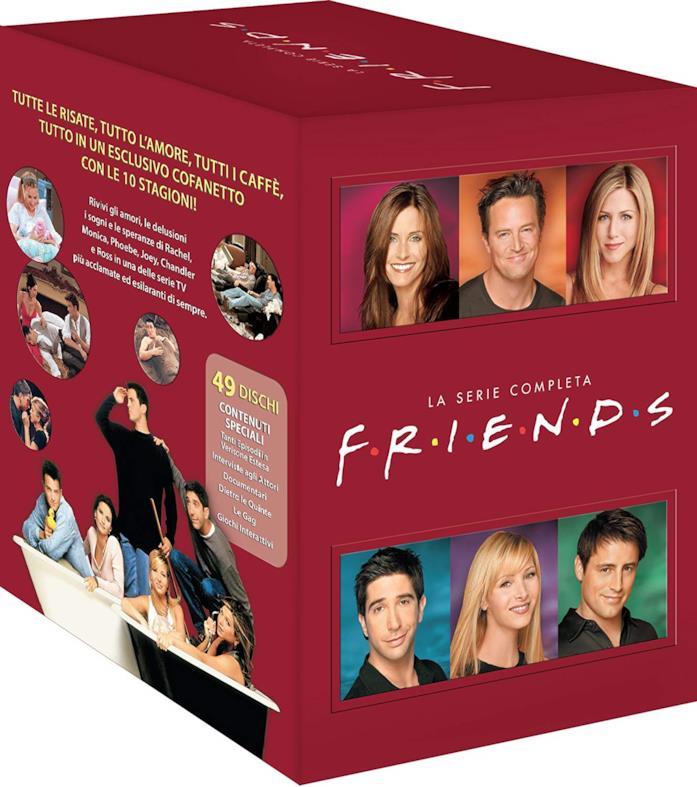 Copertina del cofanetto DVD di Friends