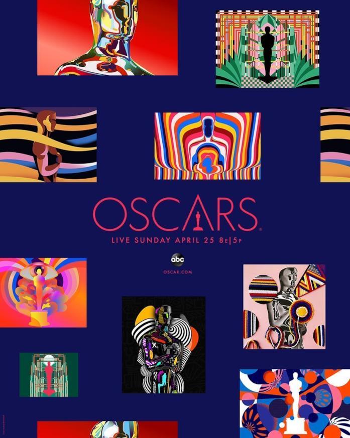 Il poster promozionale degli Oscar 2021
