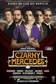 Poster Black Mercedes