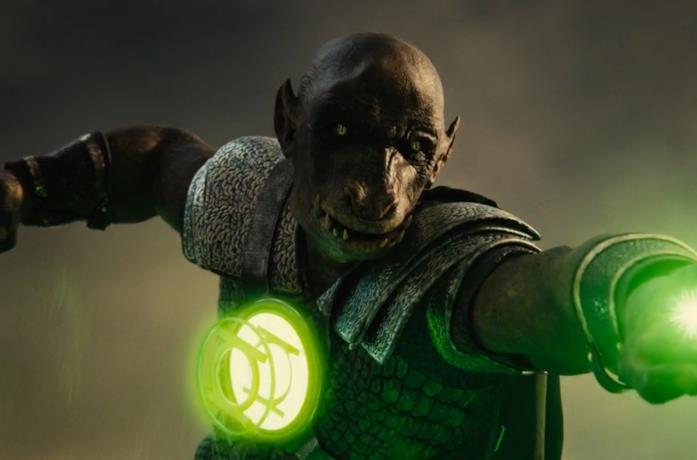 Una Lanterna Verde che appare nella Snyder's Cut
