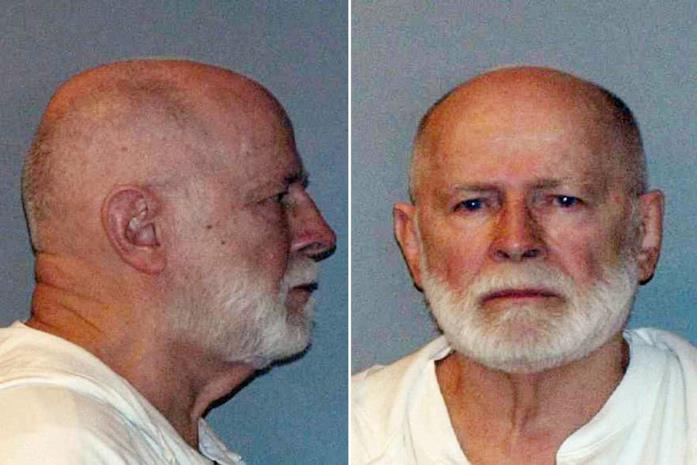 La foto di Whitey dopo l'arresto nel 2011