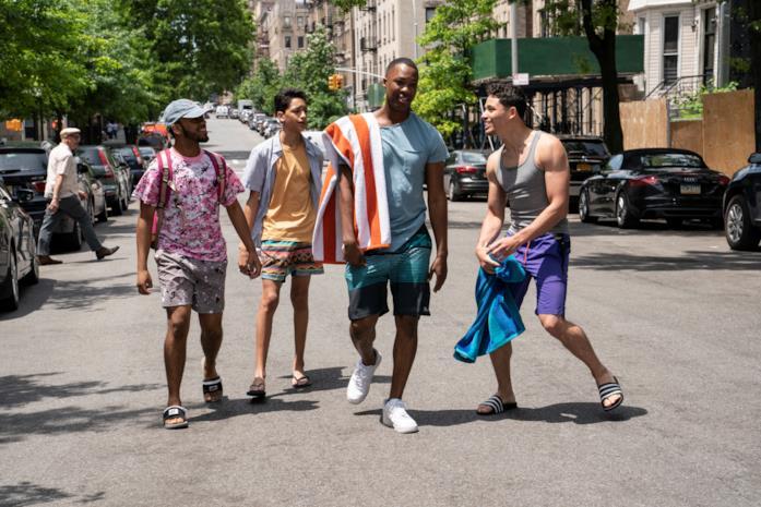 Alcuni membri del cast in In the Heights
