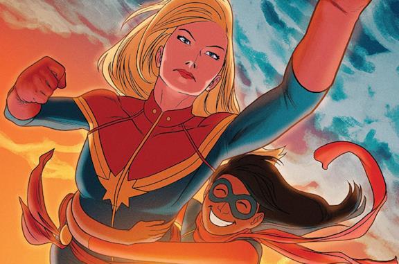 Dettaglio della cover di Ms. Marvel #17