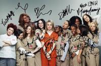 "Fotografia autografata del cast di ""Orange is the new black"""