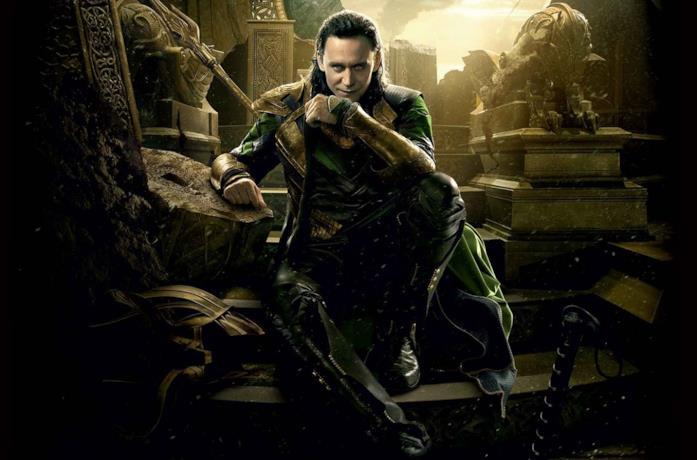 L'attore Tom Hiddleston interpreta Loki