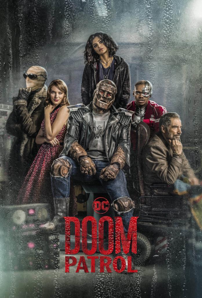 Il poster di Doom Patrol