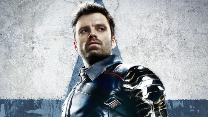 Sebastian Stan nei panni del Soldato d'Inverno nel poster di The Falcon and The Winter Soldier