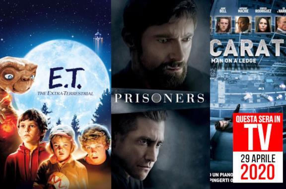 Film stasera in TV: Prisoners, E.T. e non solo il 29 aprile 2020