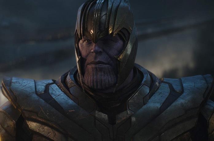 Josh Brolin in una scena del film Avengers: Endgame