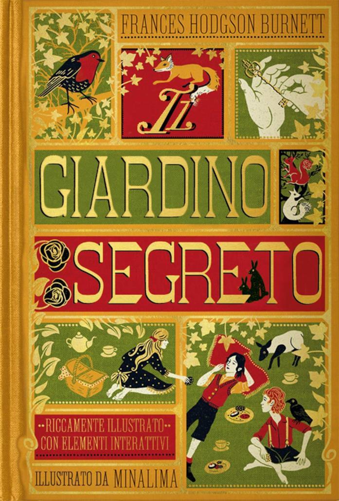 La copertina de Il giardino segreto