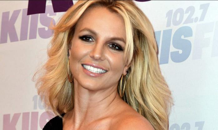 Britney Spears in primo piano