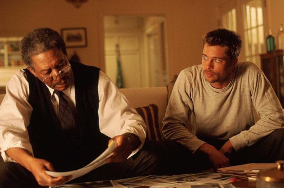 Seven, i segreti del finale shock del film con Brad Pitt e Morgan Freeman