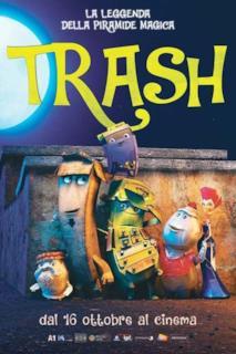 Poster Trash - La leggenda della piramide magica