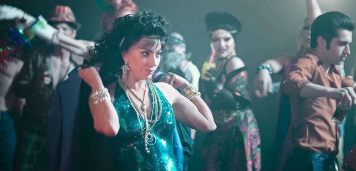 Patrizia Reggiani balla in discoteca