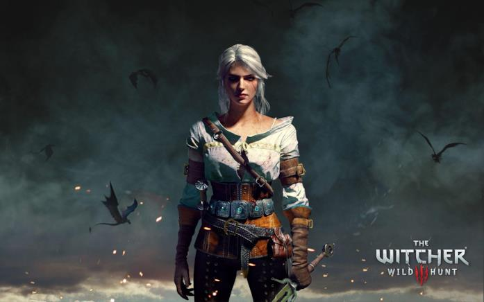 Ciri in The Witcher 3