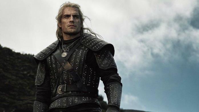 Henry Cavill in un'immagine promozionale di The Witcher