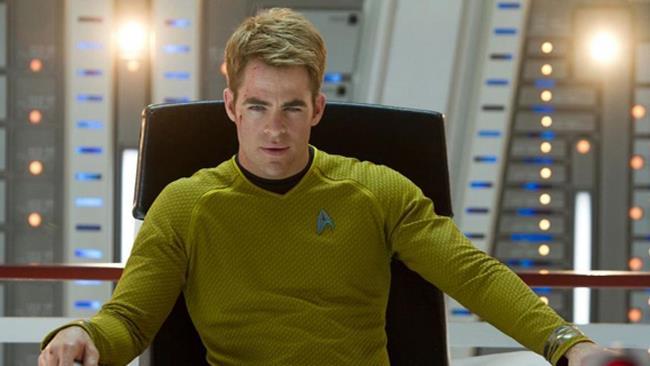 Chris Pine alias Capitano Kirk