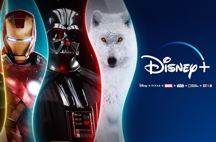 Immagine promozionale di Disney+