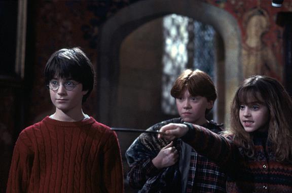 Immagine promozionale di Harry Potter e la Pietra Filosofale
