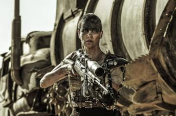 Un'immagine di Furiosa in Mad Max: Fury Road