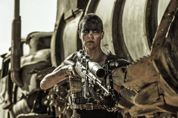 Un'immagine di Furiosa in Mad Max: Fury Road