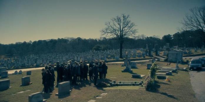 Il cimitero è mostrato nell'episodio 7 di Hill House