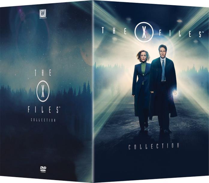 Copertina del cofanetto DVD di X-Files