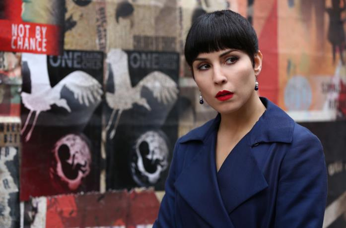 L'attrice Noomi Rapace