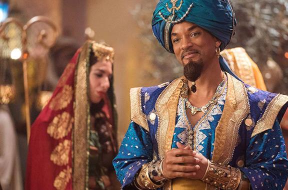 Aladdin e il Genio nel live-action Disney