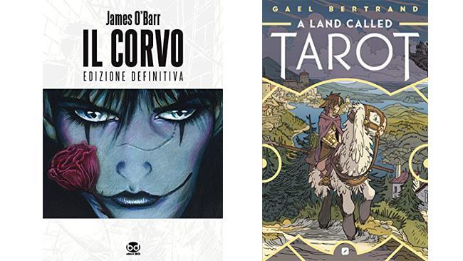 Il corvo  e A land called Tarot - fumetti