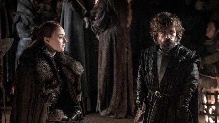 GoT 8x03: Sansa e Tyrion nelle Cripte