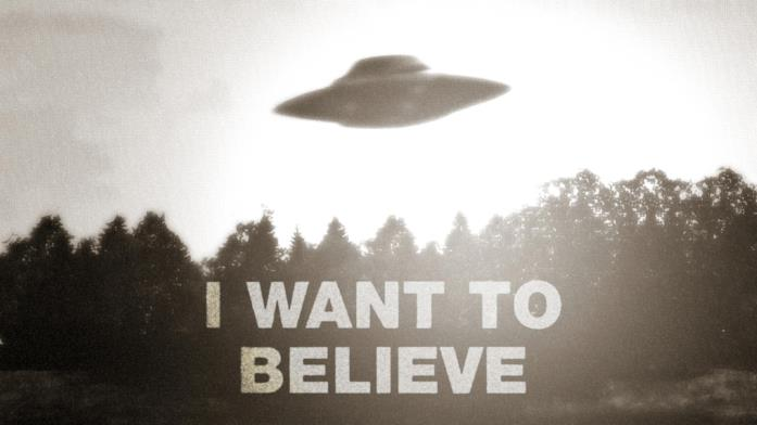 Uno dei poster nell'ufficio di Fox Mulder