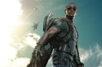 Un'immagine di Anthony Mackie come Falcon