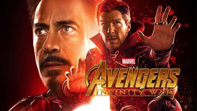Tony Stark e Stephen Strange in Infinity War
