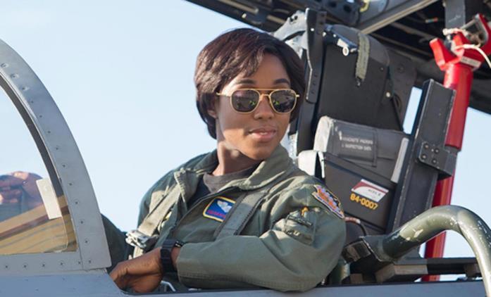 Lashana Lynch in Captain Marvel