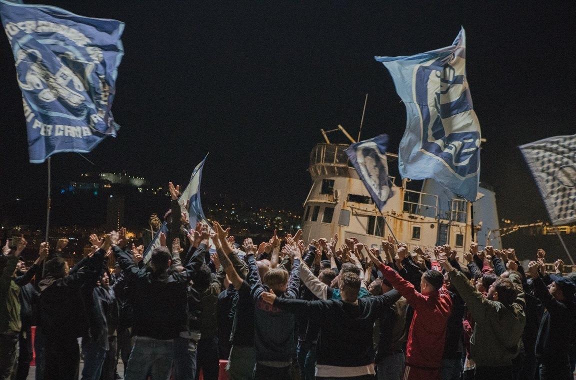 Una scena del film Ultras ambientata a Pozzuoli