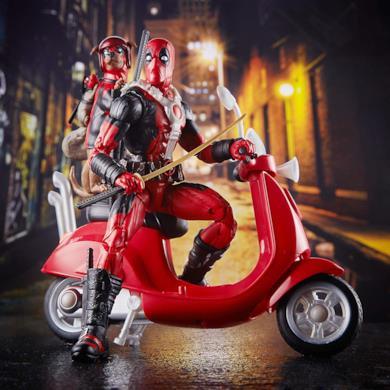 Hasbro Marvel Legends Series - Deadpool con Veicolo ed Accessori
