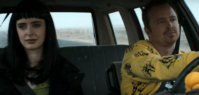 Jesse e Jane in auto