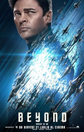 Star Trek: Beyond, ecco il character poster di Bones