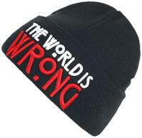 """""""The World Is Wrong"""" Beanie"""