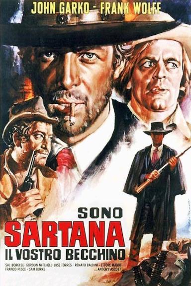 Poster Sono Sartana, il vostro becchino