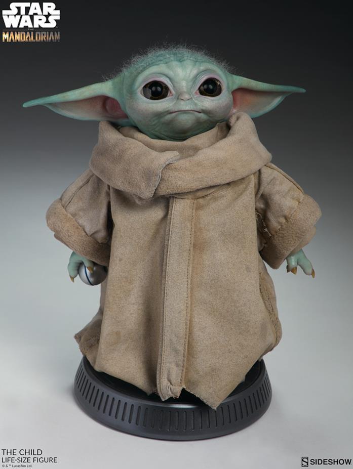 Baby Yoda, action figures scala 1:1
