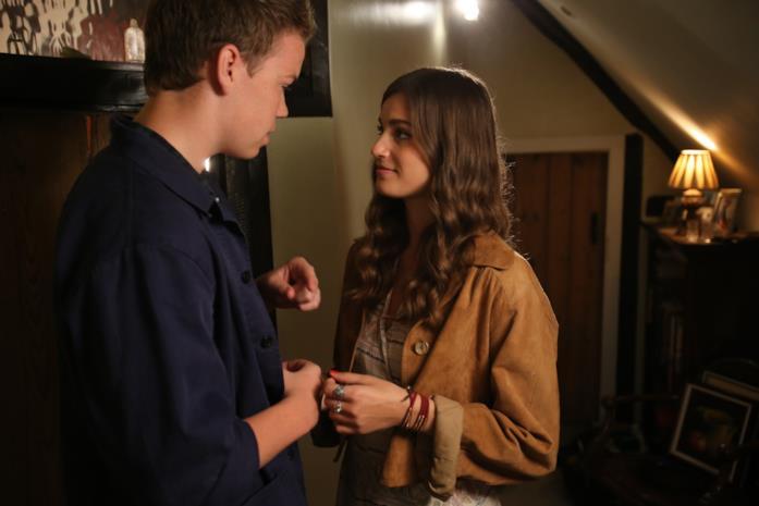 Will Poulter e Alma Jodorowsky insieme sul set di Kids in Love